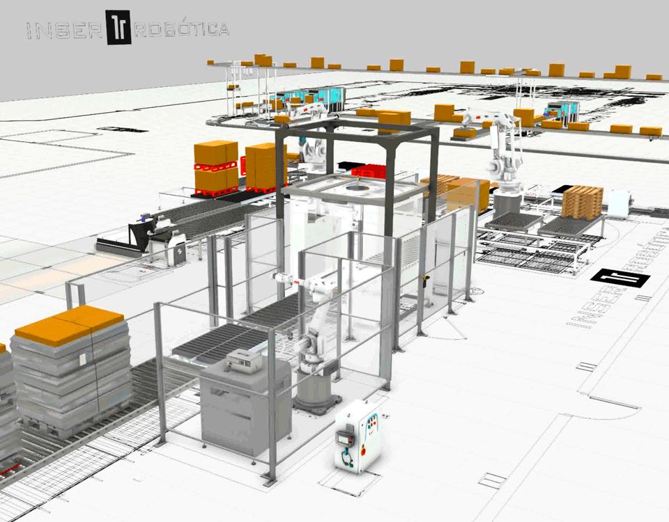 Simulaciones automatización robotizadas