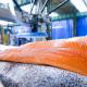 Solución de automatización para manipulación de lomos de salmón