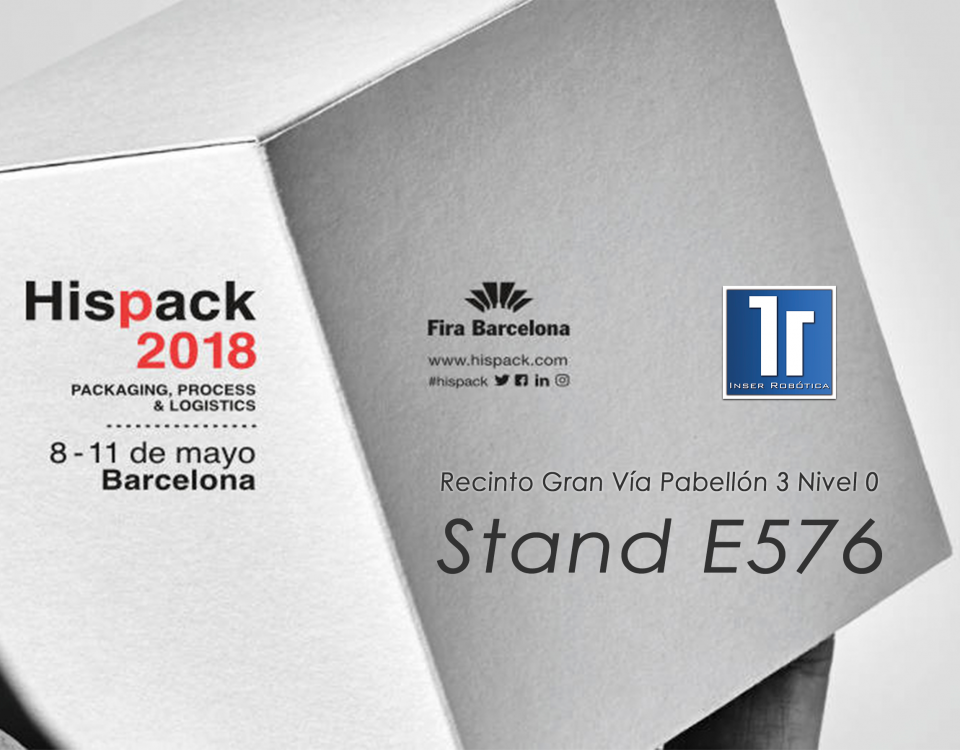 Expositores automatización Hispack 2018