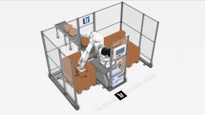 Paletizado robotizado de espacio reducido