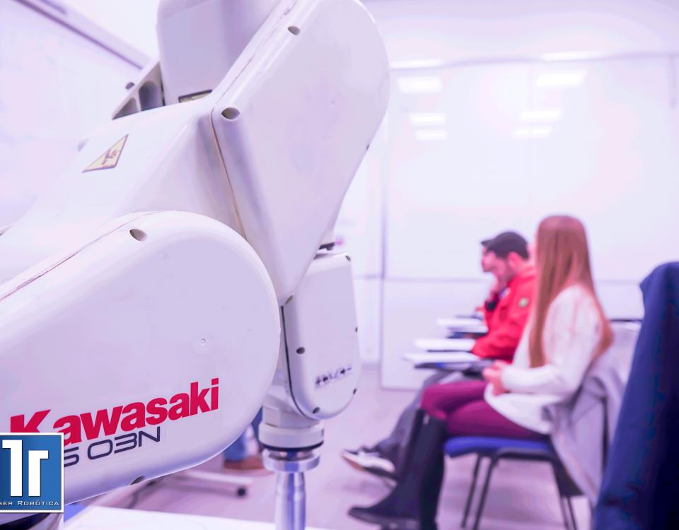 Cursos programación robots Kawasaki