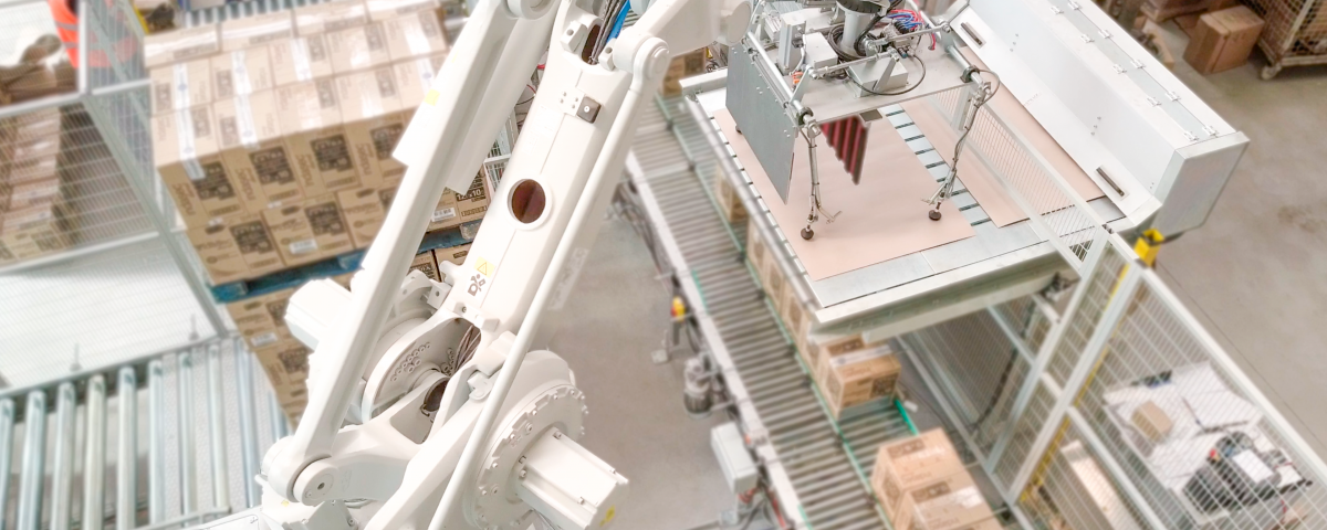 Robots paletizadores Inser Robótica