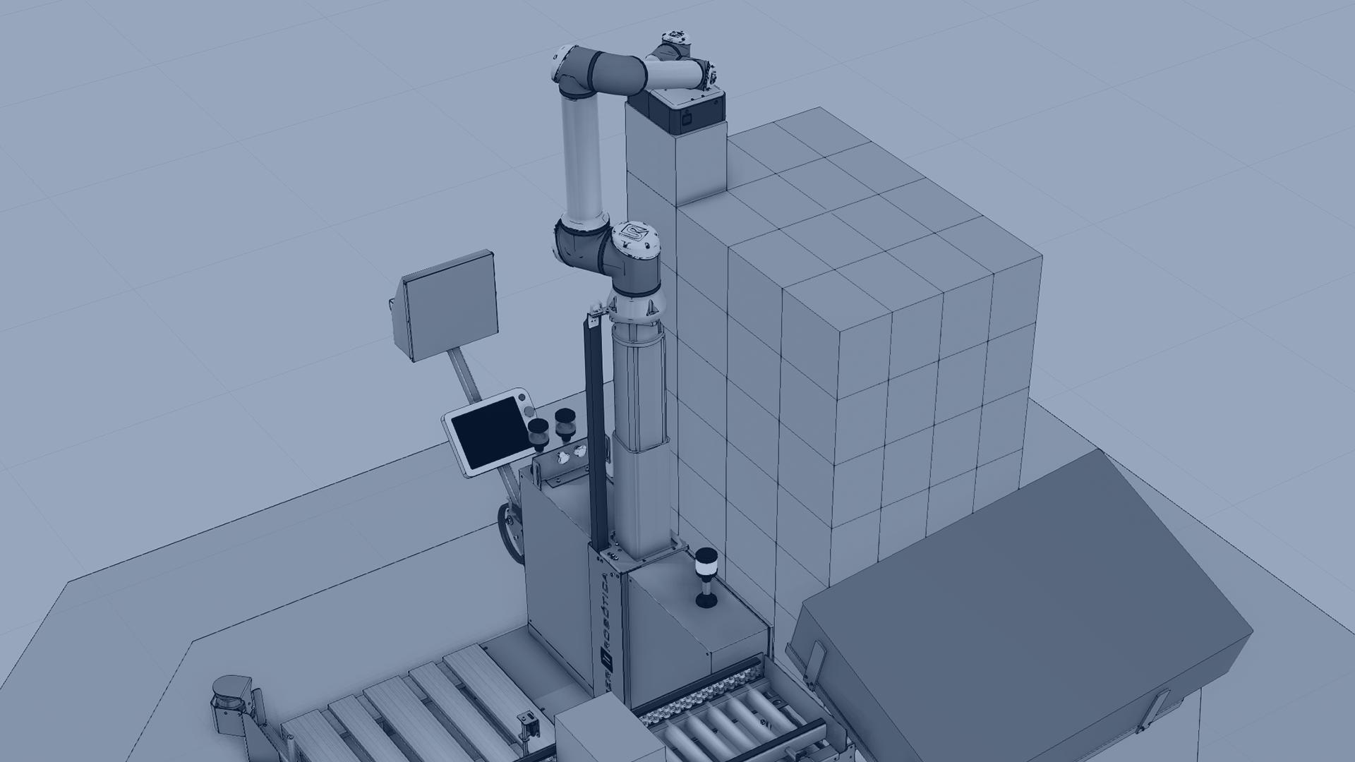 Copalletizer-Column-Up